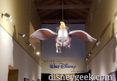 Walt Disney Archives Exhibit @ Bowers Museum