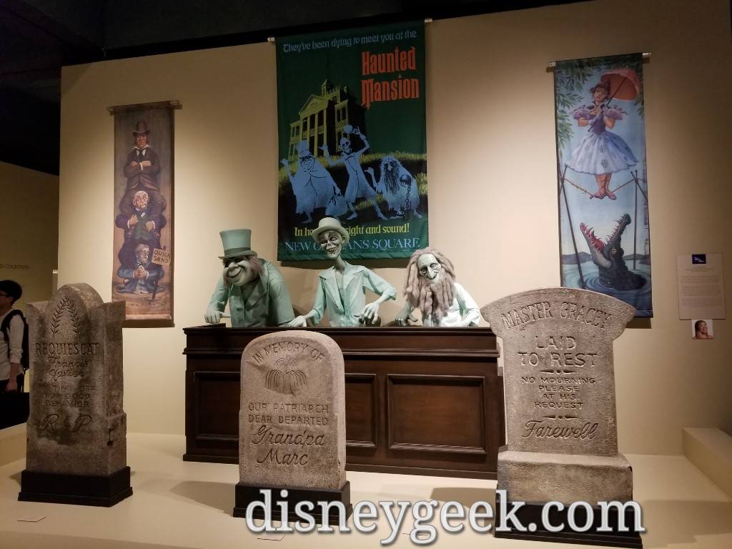 Haunted Mansion display