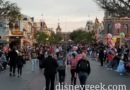 Disneyland Main Street USA at 5:45