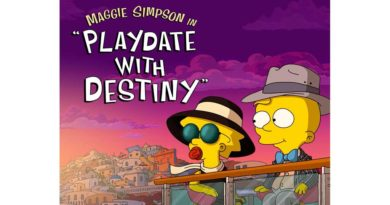 """""""The Simpsons"""" Animated Short Film """"Maggie Simpson in 'Playdate with Destiny'"""" Streams Tomorrow on Disney+"""