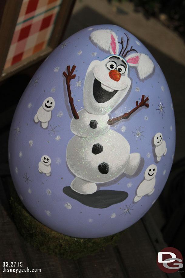 2015 Disneyland Egg Art - Olaf