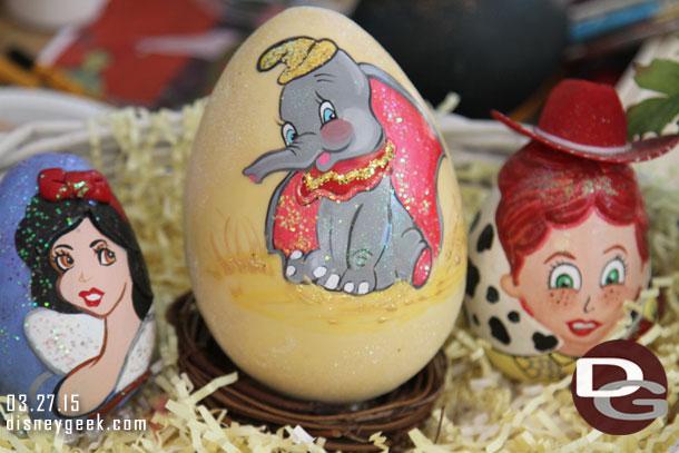 2015 Disneyland Egg Art