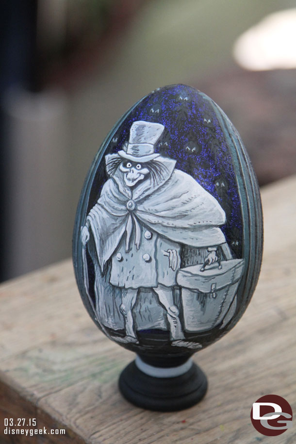 2015 Disneyland Egg Art - Hatbox Ghost