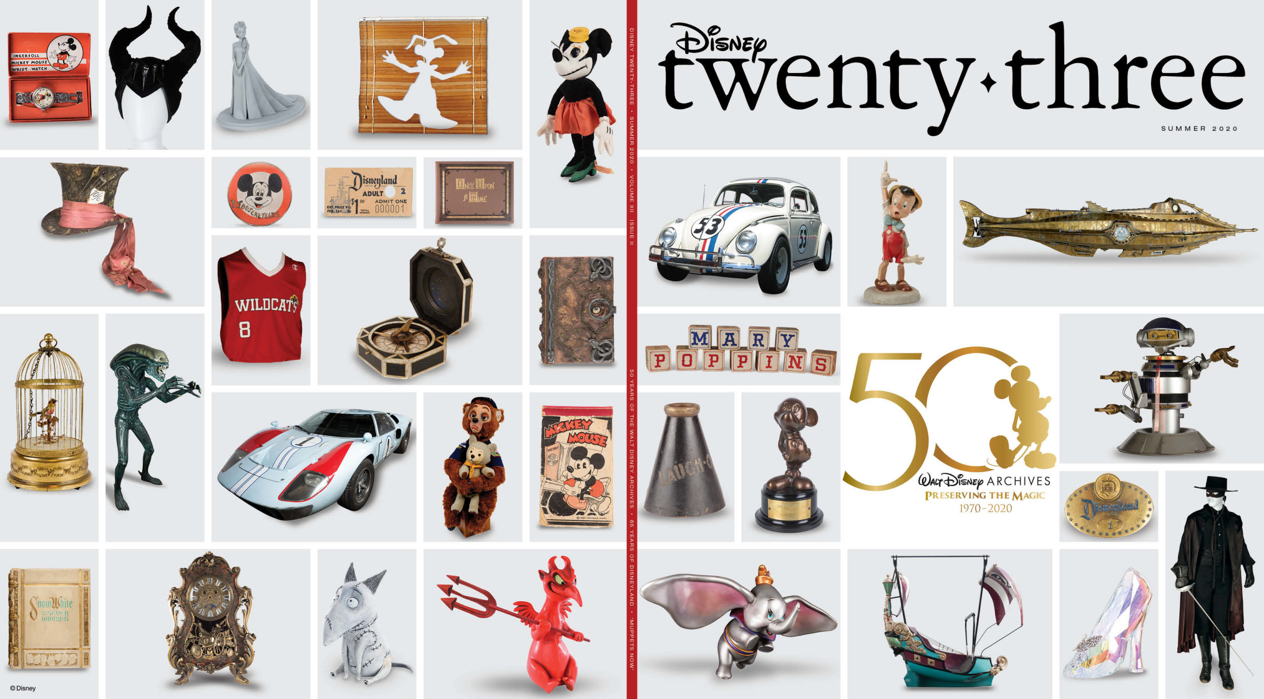 Disney Twenty-Three Summer 2020 Cover
