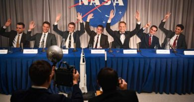 "BURBANK, Calif. (May 5, 2020) – Disney+ announced today that the original scripted series ""The Right Stuff"" from National Geographic will premiere this fall on Disney+. Produced for National Geographic by Appian Way and Warner Horizon Scripted Television, ""The Right Stuff"" is adapted from Tom Wolfe's iconic, bestselling nonfiction account of the early days of the U.S. space program. The eight-episode, scripted series takes a clear-eyed look at what would become America's first ""reality show,"" as ambitious astronauts and their families become instant celebrities in a competition that could kill them or make them immortal. The two men at the center of the story are Major John Glenn, a revered test pilot and committed family man with unwavering principles, portrayed by Patrick J. Adams (""Suits""), and Lieutenant Commander Alan Shepard, one of the best test pilots in Navy history, portrayed by Jake McDorman (""What We Do in the Shadows,"" ""Lady Bird""). At the height of the Cold War in 1959, the Soviet Union dominates the space race. To combat a national sentiment of fear and decline, the U.S. government conceives of NASA's Project Mercury, igniting a space race with the Soviets and making instant celebrities of a handful of the military's most accomplished test pilots. These individuals, who come to be known as the Mercury Seven, are forged into heroes long before they have achieved a single heroic act. The nation's best engineers estimate they need several decades to make it into outer space. They are given two years. The rest of the Mercury Seven includes Lieutenant Gordon Cooper, portrayed by Colin O'Donoghue (""Once Upon a Time,"" ""Carrie Pilby,"" ""The Rite""), the youngest of the seven who was selected to everyone's surprise; Wally Schirra, portrayed by Aaron Staton (""Mad Men,"" ""Narcos: Mexico,"" ""Castle Rock""), a competitive pilot with a gift for pulling pranks; Scott Carpenter, portrayed by James Lafferty (""The Haunting of Hill House,"" ""Small Town Crime""), a soulful man who was dubbed ""The Poet"" by the other astronauts; Deke Slayton, portrayed by Micah Stock (""Brittany Runs a Marathon,"" ""Escape at Dannemora""), a taciturn but incredibly intelligent pilot and engineer; and Gus Grissom, portrayed by Michael Trotter (""Underground,"" ""The Evening Hour""), a no-nonsense test pilot who eventually becomes the second man in space. The astronauts' strengths are equaled only by their flaws. As the men succumb to the temptations that surround them, Project Mercury threatens to come apart. At the heart of the historic drama populated by deeply human characters are two men who become icons — Glenn and Shepard — as they jockey to be the first man in space. The entire program is nearly brought to its knees by their intense rivalry. The series also follows NASA's engineers, who work against the clock as pressures mount from Washington and a transfixed public. And we witness the underbelly of a myth-making propaganda machine headed by NASA's PR department and aided by the writers and editors at LIFE Magazine. ""This true story of scientific innovation and human perseverance could not be more timely,"" said Courteney Monroe, president, National Geographic Global Television Networks. ""National Geographic's The Right Stuff' is an aspirational story about exploration, ambition, determination and resilience and reminds us that human beings can achieve the extraordinary when united by a common purpose. This series provides a compelling behind-the-scenes look at the flawed, but heroic Mercury 7 astronauts and we are thrilled that it has found its perfect home on Disney+."" ""As our audiences around the world turn to Disney+ to find inspiration and optimism, we believe the true-life heroism of the Mercury 7 will showcase the tenacity of the human spirit and inspire a new generation to reach for the stars,"" said Ricky Strauss, president, Content & Marketing, Disney+. ""The wonderful team of storytellers at National Geographic, Warner Horizon Scripted Television and Appian Way have crafted a compelling and entertaining tale and we are honored to give it a global home as the first scripted Disney+ original series from National Geographic."" ""Tom Wolfe's book brilliantly captured a critical moment in American history that really resonated with all of us at Appian Way and Nat Geo,"" noted Davisson, ""Disney+ is the perfect partner to bring forth this story of what it takes to truly achieve something extraordinary, but also the personal costs of that ambition."" Added Lafferty, ""'The Right Stuff' evokes the wonder and awe of the moment we first escaped the bounds of our only home and ventured into the unknown. But the show is as much about who we are today as it is about our historic achievements. At a time when the world is confronted with significant challenges, this story reminds us that what seems impossible today can become the triumph of tomorrow."" The rest of the ensemble cast includes Nora Zehetner (""Brick,"" ""Creative Control"") as Annie Glenn, the wife of John Glenn and his childhood sweetheart who has a speech impairment that can sometimes make communication difficult; Eloise Mumford (""Fifty Shades of Grey"" franchise) as Trudy Cooper, Gordon Cooper's wife and an accomplished pilot herself, with her rocky marriage to Gordon providing conflict throughout the season; and Shannon Lucio (""Prison Break,"" ""True Blood"") as Louise Shepard, Alan Shepard's devoted and long-suffering wife. Patrick Fischler (""Twin Peaks,"" ""Mad Men"") plays Bob Gilruth, a soft-spoken rocket scientist who is the partner of the more brash Chris Kraft, who is portrayed by Eric Ladin (""American Sniper""). They are critical members of NASA's Space Task group, charged by President Dwight Eisenhower with putting a man into space faster than seems humanly possible. They're racing against the clock as pressures mount from Washington and a transfixed public. As the Mercury 7 astronauts are thrust into the public eye, NASA's PR department goes into overdrive to paint the perfect picture, aided by the writers and editors at LIFE Magazine. Danny Strong (""Billions"") plays John ""Shorty"" Powers, NASA's omnipresent PR man, constantly taking the astronauts on glad-handing trips to factories and rubber-chicken dinners in order to spur public enthusiasm, and thus, appropriations from congress for the space program. Josh Cooke (""Grace and Frankie,"" ""The Marvelous Mrs. Maisel"") plays Loudon Wainwright Jr., LIFE Magazine's star reporter, who is tasked with writing the biographies of all seven astronauts and has the keenest look at what's really transpiring. Leonardo DiCaprio and Jennifer Davisson are executive producers, along with Mark Lafferty (""Castle Rock,"" ""Halt and Catch Fire""), who is showrunner. Chris Long (""The Americans,"" ""The Mentalist"") directed and executive produced the first episode. Will Staples (""Animals,"" ""Shooter"") and Howard Korder (""Boardwalk Empire"") are also executive producers. Academy Award® winner Thelma Schoonmaker (""Raging Bull,"" ""GoodFellas,"" ""The Departed"") and Emmy® winner Danny Strong (""Empire,"" ""The Hunger Games"" movies, ""Game Change"") are consulting producers. Michael Hampton shepherded this project on behalf of Appian Way and is co-producer."