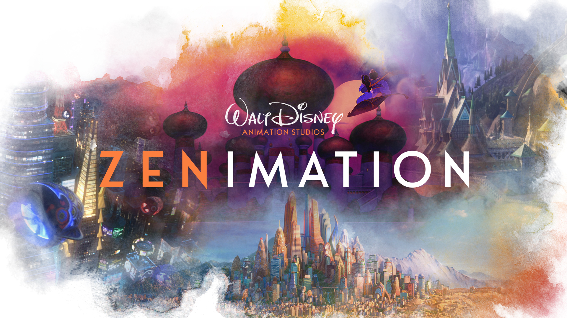 Zenimation on DisneyPlus