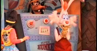 Goofy Toons Up @ Disneyland - Roger Rabbit