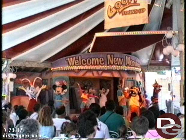 Goofy Toons Up @ Disneyland