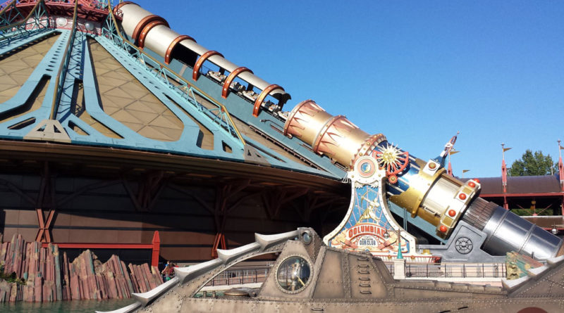 Disneyland Paris - Space Mountain - Discoveryland