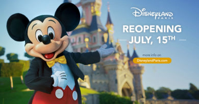 Disneyland Paris Reopening July 15