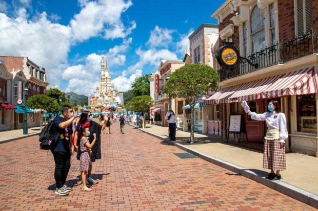 Hong Kong Disneyland - Reopening