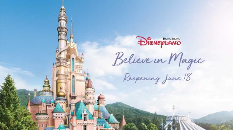 Hong Kong Disneyland Reopening June 18, 2020