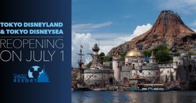 Tokyo Disney Resort Reopening July 1