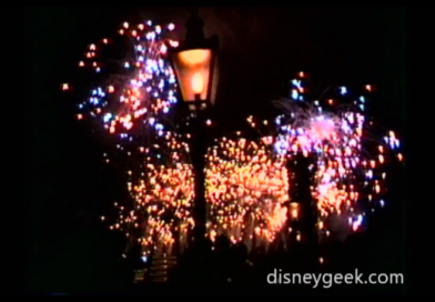 Video – 1994 Epcot Illuminations & 4th of July Fireworks