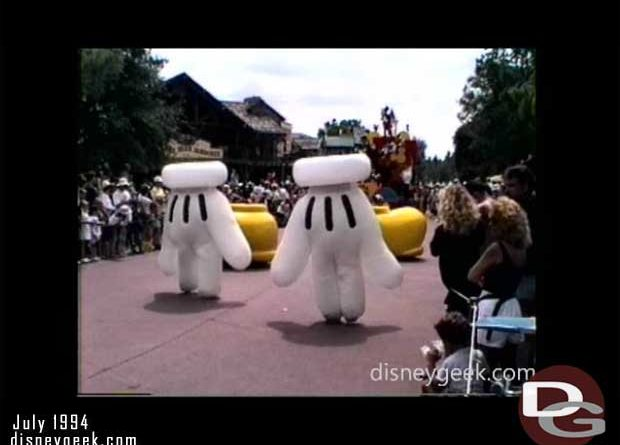 1994 - Mickey Mania Parade - Magic Kingdom - WDW