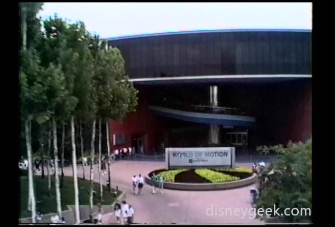 1994 Epcot - World of Motion
