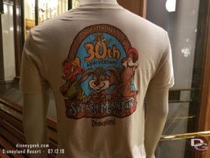 Disneyland Splash Mountain 30th Anniversary Shirt