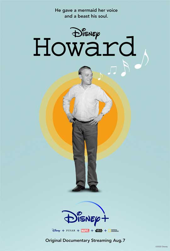 """Howard"", An Original Documentary Film Celebrating The Life Of Academy Award®-Winning Lyricist Howard Ashman, Premieres August 7 On Disney+"