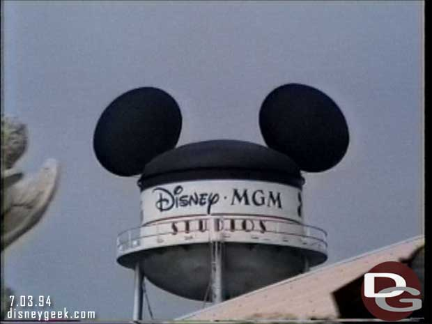 Disney-MGM Studios - Studio Backlot Tour 1994 - The Earful Tower