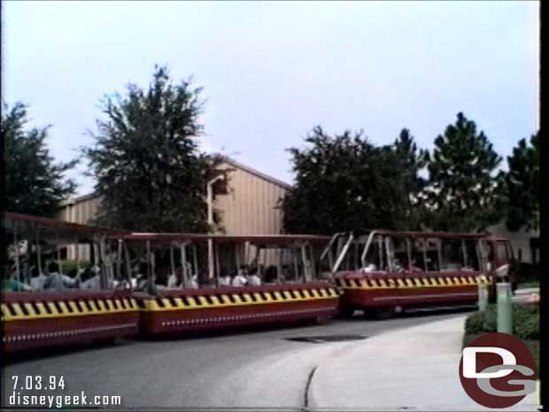 Disney-MGM Studios - Studio Backlot Tour 1994
