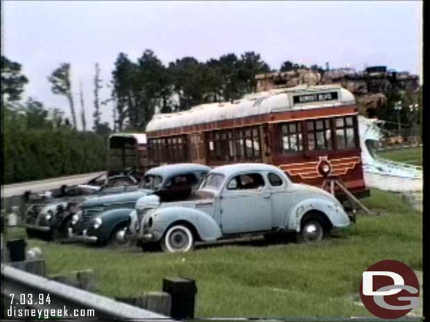 Disney-MGM Studios - Studio Backlot Tour 1994 - Who Framed Roger Rabbit Vehicles