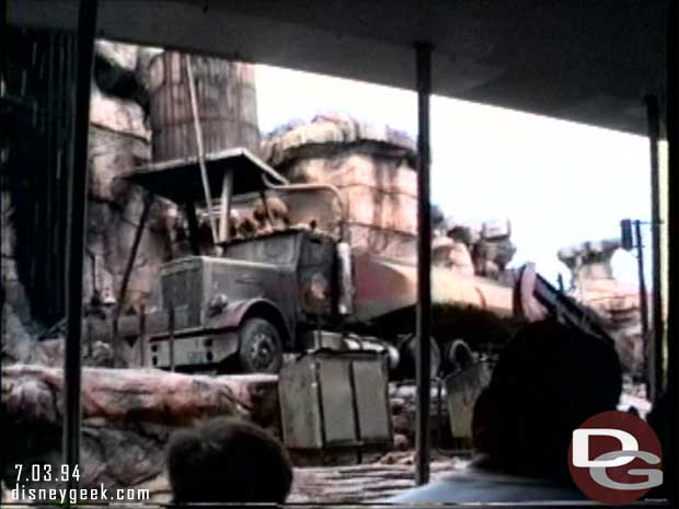Disney-MGM Studios - Studio Backlot Tour 1994 - Catastrophe Canyon