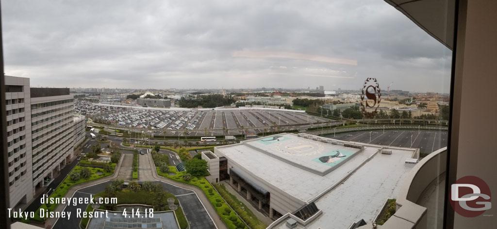 Tokyo Disney Resort form Sheraton Club