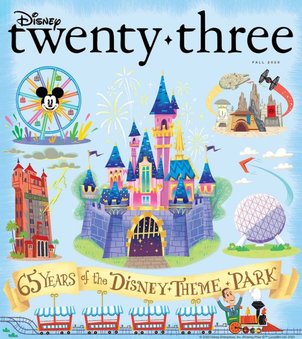 D23 Disney Twenty-Three Fall 2020 Cover