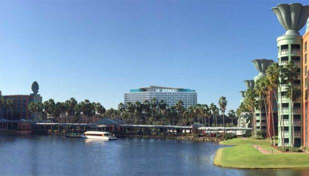 The Walt Disney World Swan Reserve Rendering