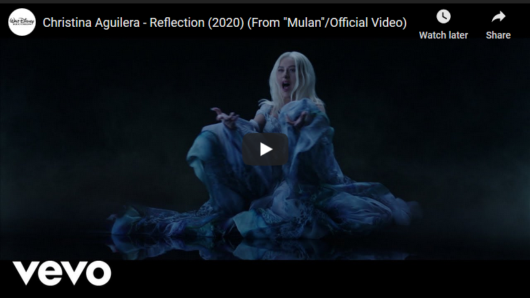 Reflection by Christina Aguilera