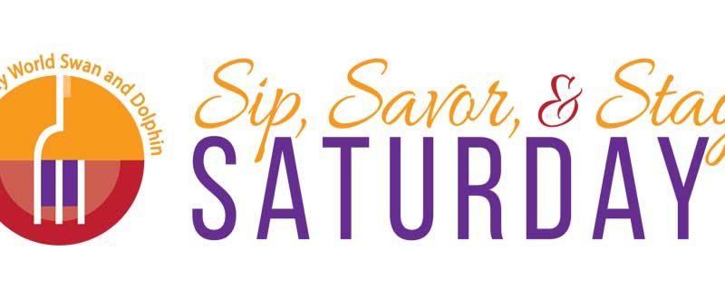 Sip, Savor and Stay Saturdays