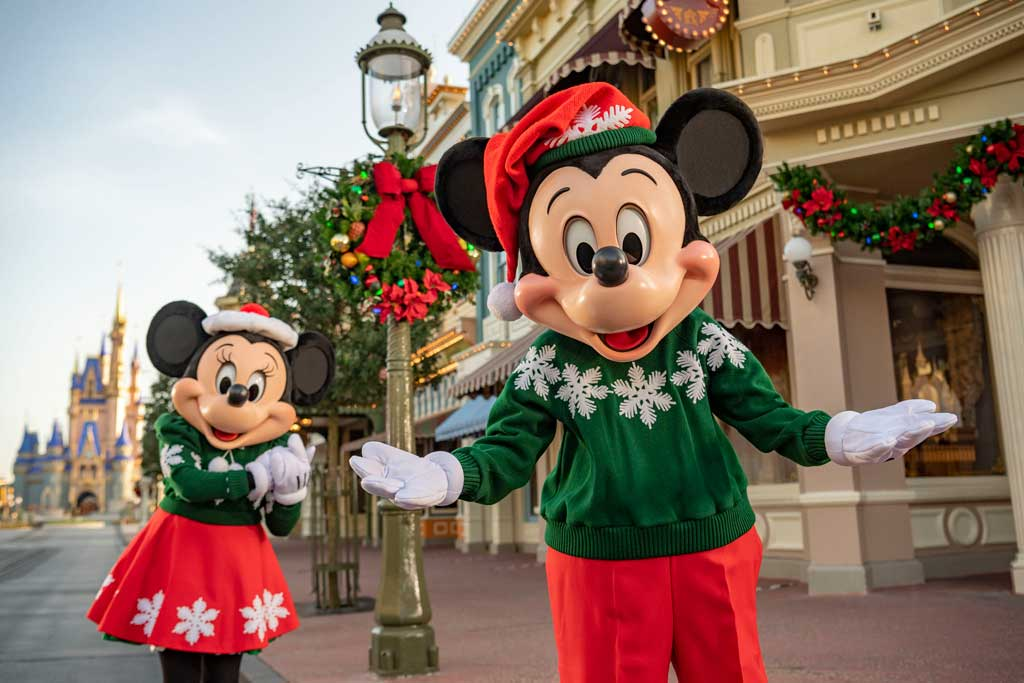 Walt Disney World Resort in Lake Buena Vista, Fla., will reimagine its holiday celebration this year. From Nov. 6 to Dec. 30, the resort's four theme parks and Disney Springs will be decked with festive décor and offer special merchandise, enchanting new experiences and seasonal food and drinks. (Matt Stroshane, photographer)