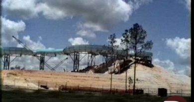 Blizzard Beach Construction 1994