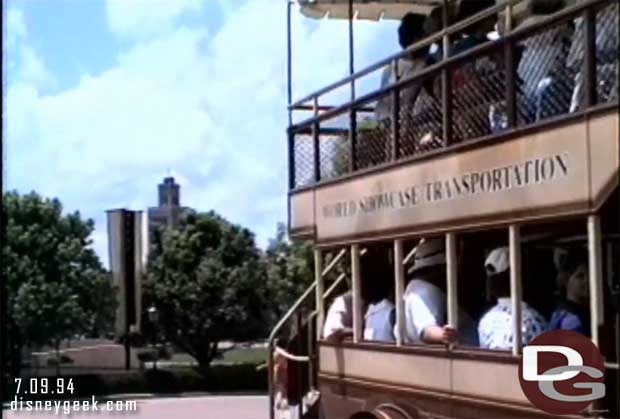 1994 World Showcase Bus