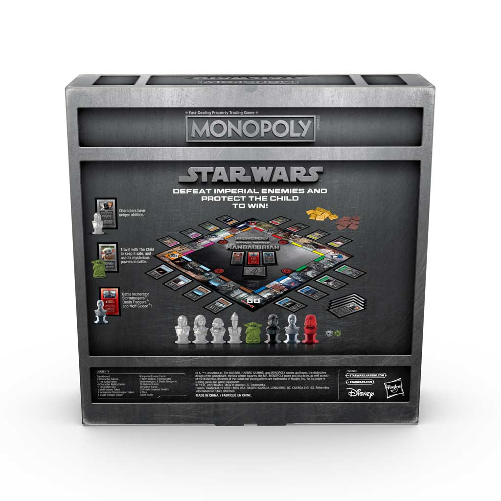 Monopoly Star Wars: The Mandalorian Edition