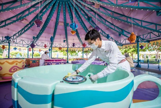 Hong Kong Disneyland Reopening