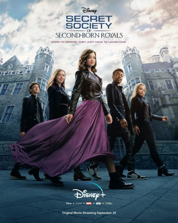 Secret Society of Second-Born Royals Poster