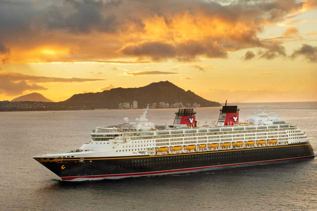 Disney Wonder in Hawaii