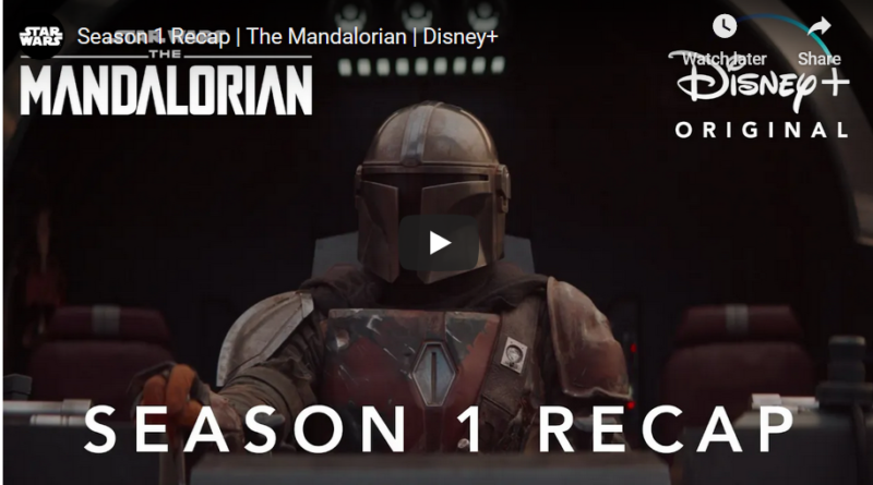 The Mandalorian Season 1 Recap