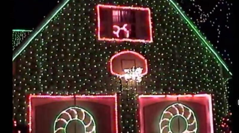 Osborne Lights on Residential Street