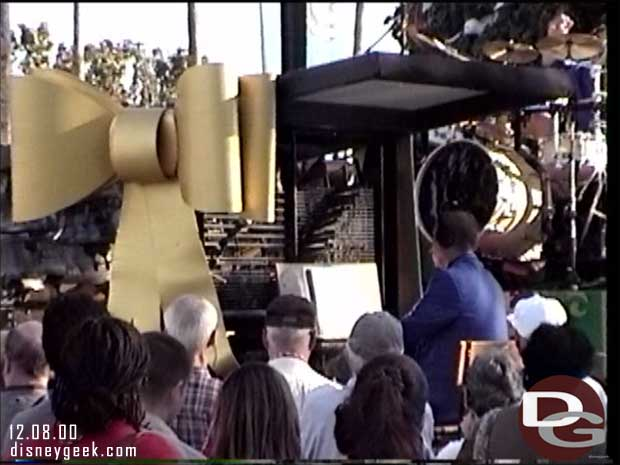 Cast in Bronze performing at Epcot