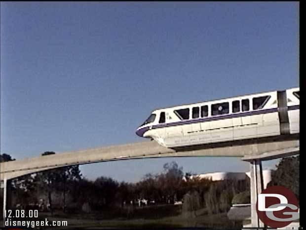 Monorail Purple at Epcot