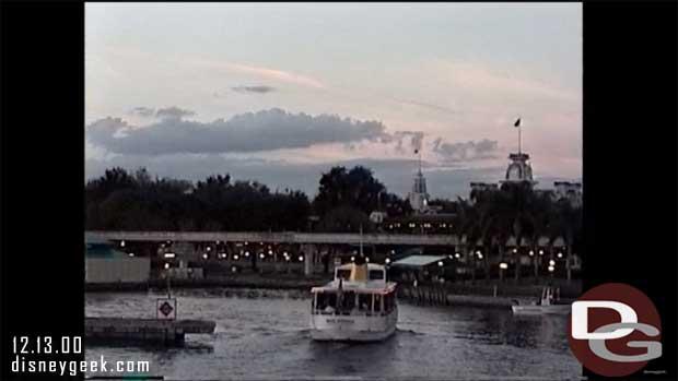 Magic Kingdom Ferry Boat - December 2000
