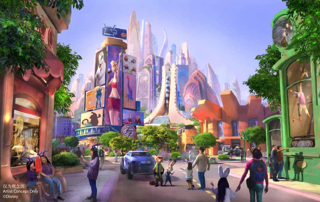 Shanghai Disneyland Zootopia Milestone