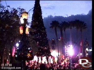 Disney MGM Studios Tree Lighting 1998