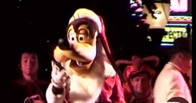 Disney MGM Studios Tree Lighting 1998