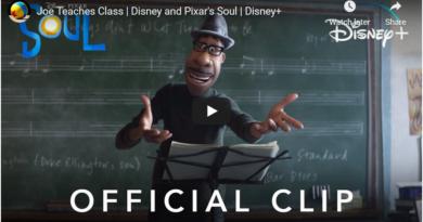 Disney Pixar - Soul - Joe Teaches Class