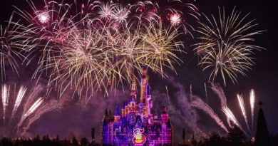 Surprise reveal of Shanghai Disney Resort's Fifth Anniversary logo