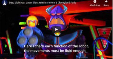 Disneyland Paris - Buzz Lightyear Renovation