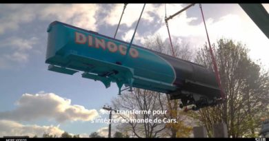 Walt Disney Studios Park - Cars Attraction